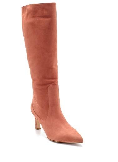Derimod Kadın Çizme (Obp 19) Klasik Kiremit